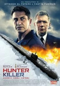 hunter killer locandina ita