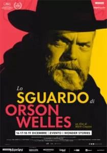 Lo sguardo di Orson Welles locandina ita