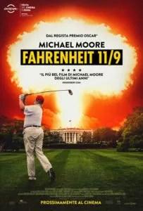 Fahreneit 11/9 poster ita