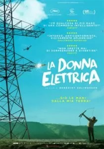 La donna elettrica poster