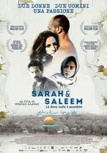 Poster Sarah e Saleem - Là dove nulla è possibile