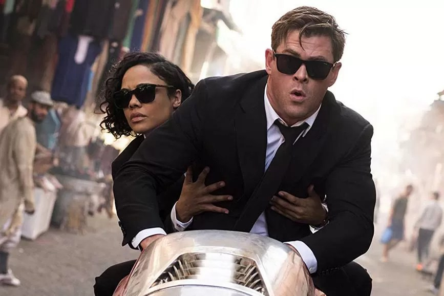 Men in Black International scena film