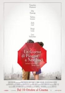 Un giorno di pioggia a NY - poster