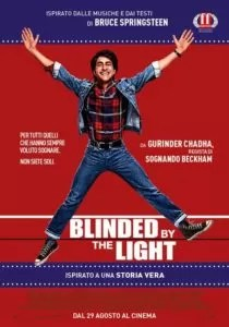 Blinded By the Light poster ita
