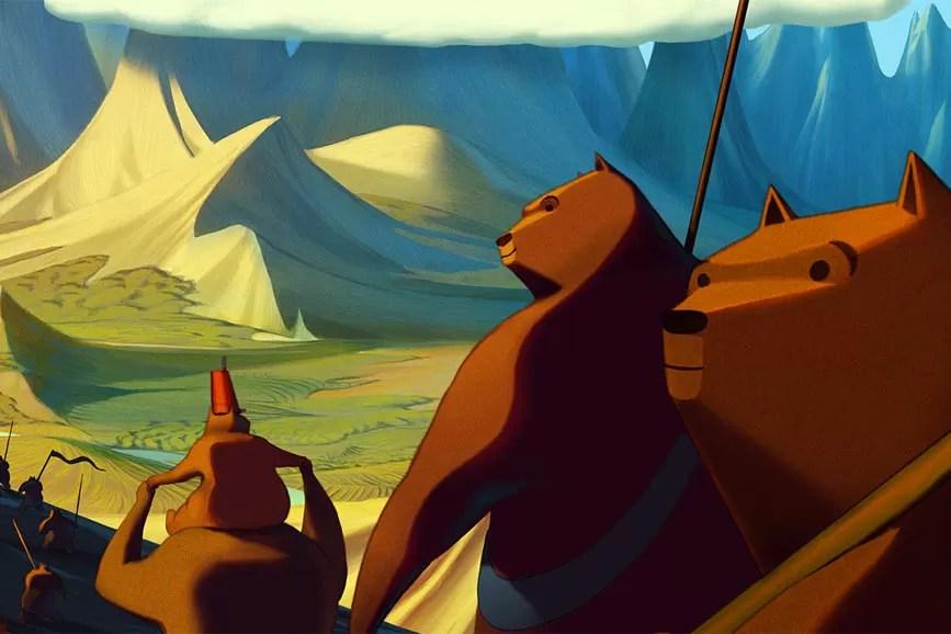 La famosa invasione degli orsi in Sicilia cartone