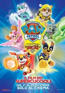 Paw Patrol Mighty Pups poster