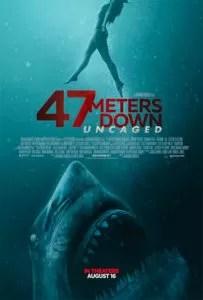 47 metri - Uncaged poster