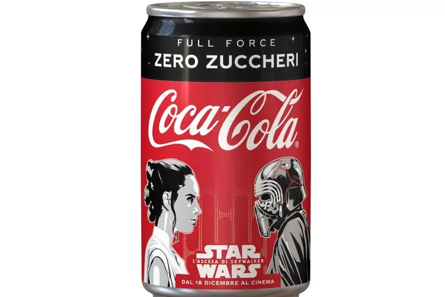 Star Wars - L'ascesa di Skywalker Coca Cola
