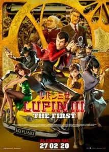Lupin III - The First poster