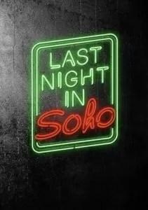 Last Night in Soho poster