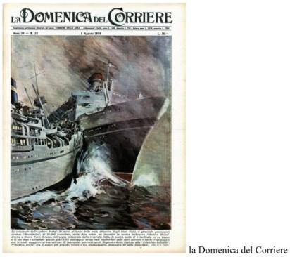 1 andrea doria domenica del corriere 1956