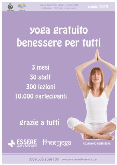 FYV - grazie - 2019 - web - numeri - essere - free - yoga - gratuito - benessere - per tutti - village - citta - alassio - estate - lucia ragazzi - summer - town - wellness