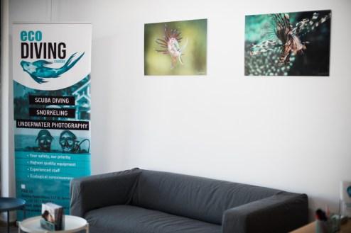 Eco Diving Center interior
