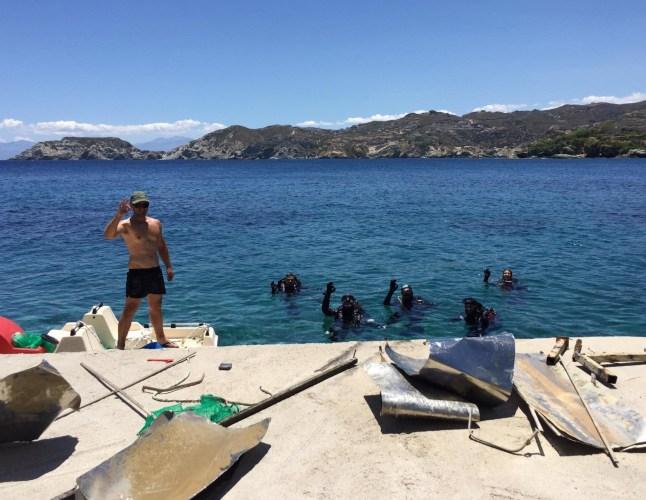eco diving center team