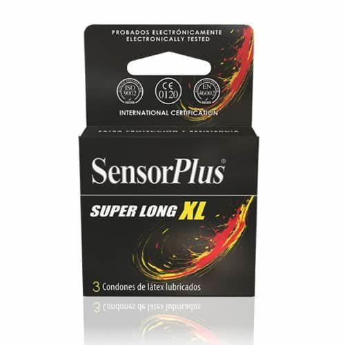 Sensor Super Long Xl x 3