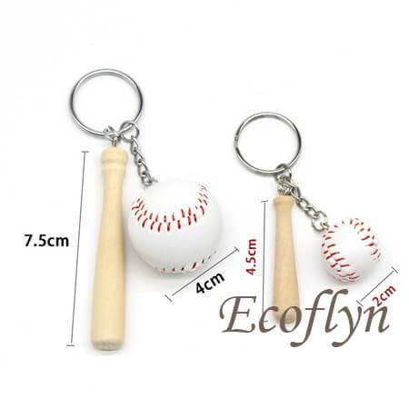 personalized baseball keychains bulk