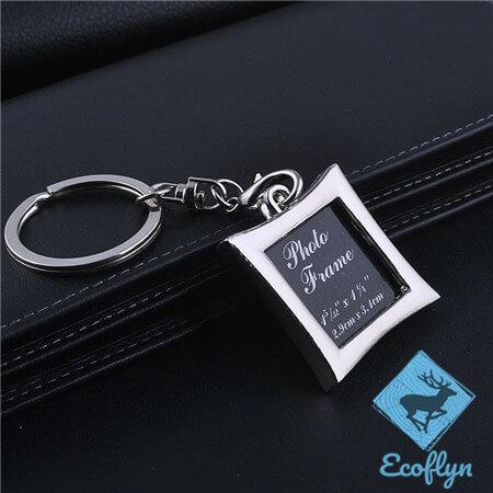 personalized photo frame keychains