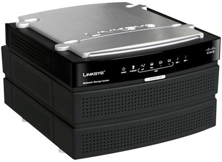 NAS LinkSys / Cisco para 2 HDs