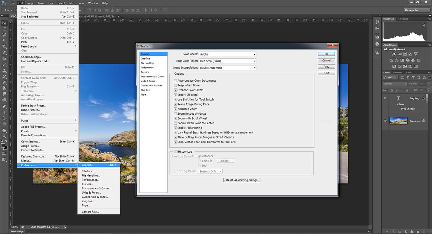 Confira 5 dicas de configurao para o seu photoshop ecofoto zoom with scrool wheel ccuart Image collections