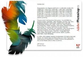 2003 - Adobe Photoshop versão CS
