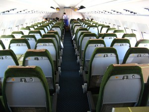 carbon offsets Flying coach class