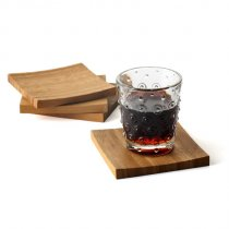 Eco Friendly Christmas Gifts Bamboo Coasters
