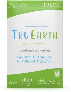 tru earth eco-friendly laundry detergent strips