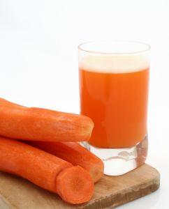 carrot juice is healthy