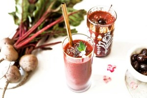 cherry beet smoothie