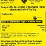 energy efficiency guide label