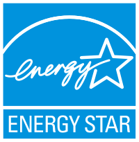 energy star logo for an energy efficient clothes dryer