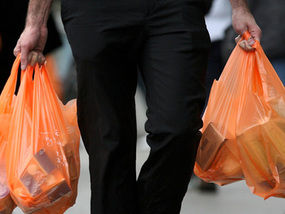 food waste in america bought in plastic bags then discarded