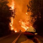wake up call climate change wildfires