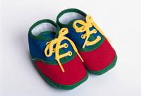 green kids cute shoes