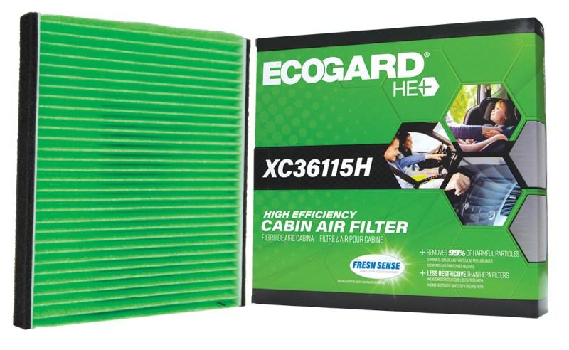 best cabin filter 2019 is ECOGARD HE+