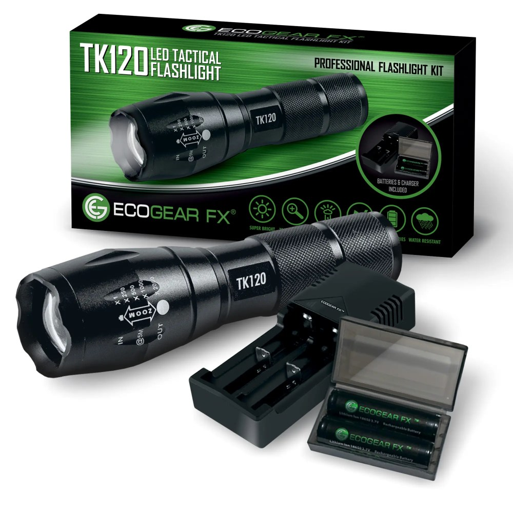 medium resolution of tk120 led flashlight kit