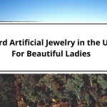 Weird Artificial Jewelry in the USA For Beautiful Ladies:-