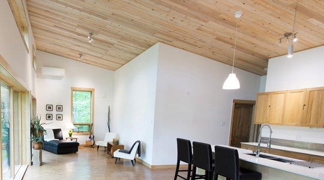 renover cuisine bois vernis