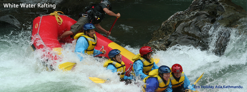 Nepal White Water Rafting with Eco Holiday Asia