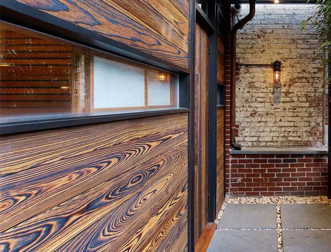 Shou Sugi Ban Burnt Wood Siding Green Home Guide Ecohome