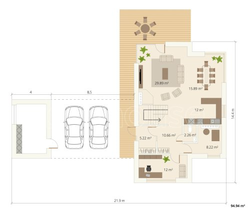 small resolution of modern 2 storey ecohouse