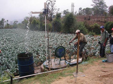 Water Conservation - Bike Water Pump