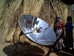 Dish Type Solar Cooker India
