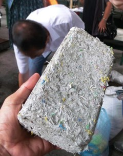 Innovative Green Building Materials - Plastic Bricks