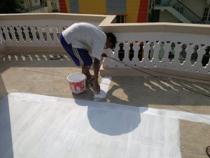 Indian Summeri - A roof painting