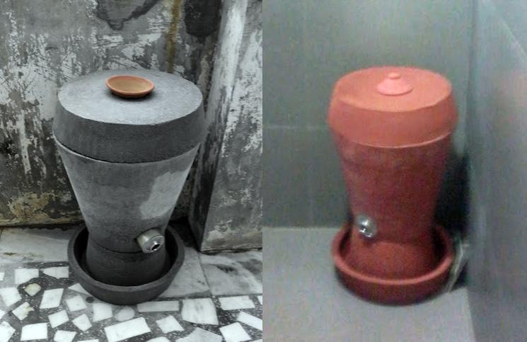 Ashudhinashak Clay Incinerators for Sanitary Napkins