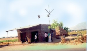 Low-cost-wind-mill-India