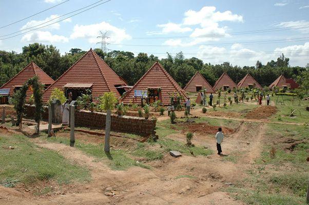 The Pyramid School Paranga Vidya Kendra garden