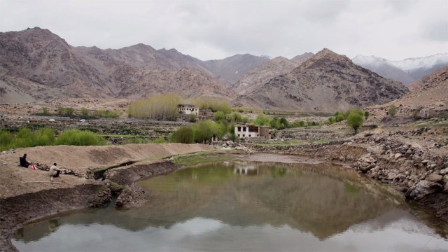 Water Conservation in Ladakh