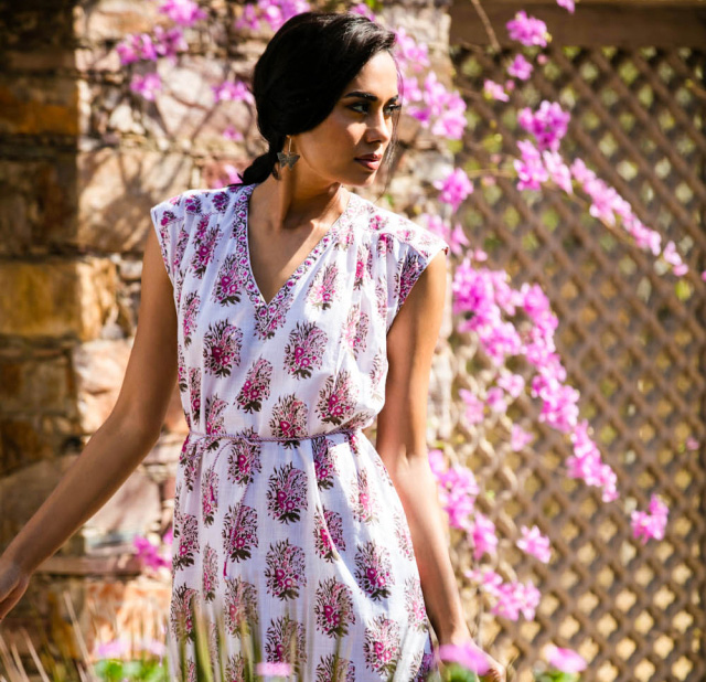 Dress-made-from-Natural-Dyes-in-India